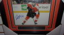 Joel Farabee Philadelphia Flyers signed 8x10 Framed Photo COA