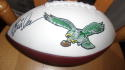 Eric Allen Philadelphia Eagles Signed Logo  Football JSA