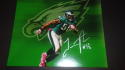 Trent Cole Philadelphia Eagles Signed 8x10  Photo COA 4