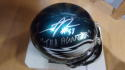 Trent Cole Philadelphia Eagles  Signed Mini Helmet JSA Inscription