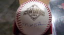 Matt Stairs Philadelphia Phillies Signed 2008 World Series WS Baseball COA