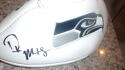 DK Metcalf Seattle Seahawks Signed Logo  Football JSA