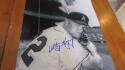 Whitey Herzog Kansas City Athletics Signed 8x10  Photo COA HOF