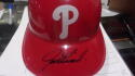 Joe Girardi Philadelphia Phillies Signed Plastic Batting Helmet COA
