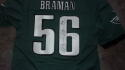 Bryan Braman Philadelphia Eagles  signed replica   jersey COA