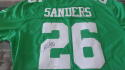 Miles Sanders Philadelphia Eagles  signed replica Throwback   jersey JSA