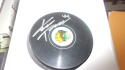 Kimmo Timonen Chicago Blackhawks signed Logo Puck COA