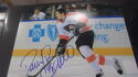 Daniel Briere Philadelphia Flyers signed 8x10 Photo COA 3