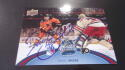 Daniel Briere Philadelphia Flyers signed 2012 Winter Classic Jumbo Card COA