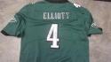 Jake Elliott Philadelphia Eagles  signed replica  jersey JSA Inscription