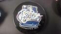 Bob Clarke Philadelphia Flyers Signed 2012 Winter Classic   logo Puck COA