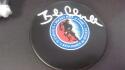 Bob Clarke Philadelphia Flyers Signed NHL Hall Of Fame  logo Puck COA