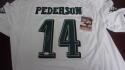 Doug Pederson  Philadelphia Eagles  signed replica  jersey COA Inscription