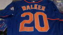 Neil Walker New York Mets Signed Replica Jersey COA