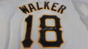 Neil Walker Pittsburgh Pirates Signed Replica Jersey COA