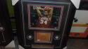 Charles Barkley Philadelphia 76ers Signed Floorboard w 8x10 Photo FRAMED JSA