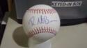 Ryan McBroom Kansas City Royals Signed OLB Baseball COA