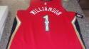 Zion Williamson New Oreans Pelicans Signed Replica Red  Jersey COA Fanatics