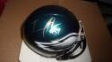 Trent Cole Philadelphia Eagles Signed mini helmet JSA