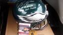 Brandon Graham Philadelphia Eagles Signed Full Size Replica Helmet JSA 2 inscriptions