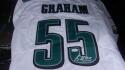 Brandon Graham Philadelphia Eagles  signed replica White Jersey JSA