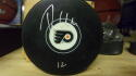 Michael Raffl Philadelphia Flyers signed Puck COA
