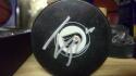 Tyler Pitlick Philadelphia Flyers Signed Logo Puck COA
