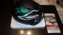 Jalen Hurts Philadelphia Eagles  Signed Eclipse Mini Helmet JSA