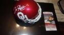 Jalen Hurts Oklahoma Sooners/Eagles Signed Mini Helmet JSA