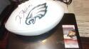 Jalen Hurts Philadelphia Eagles Signed Logo Football JSA