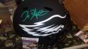 Jalen Hurts Philadelphia Eagles Signed Full Size Replica Eclipse Helmet JSA