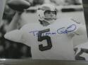 Roman Gabreil Philadelphia Eagles Signed 8x10 Photo COA 2