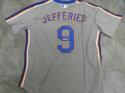 Gregg Jefferies New York Mets Signed Replica Away Jersey COA