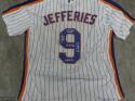 Gregg Jefferies New York Mets Signed Replica Home