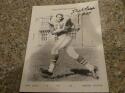 Dick Lucas Philadelphia Eagles Signed 8x10 Photo