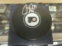 Carter Hart Philadelphia Flyers Signed Logo Puck Fanatics COA