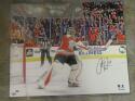 Carter Hart Philadelphia Flyers Signed 16x20 Photo COA Fanatics