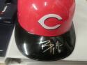 Billy Hamilton Cincinnati Reds Signed Plastic Batting Helmet COA