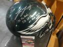 Lane Johnson Philadelphia Eagles Signed Full Size Replica