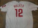 Neil Walker Philadelphia Phillies Signed Replica  Pinstripe  Jersey COA