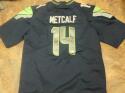DK Metcalf Seattle Seahawks signed replica  Jersey JSA