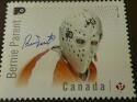 Bernie Parent Philadelphia Flyers  Signed Canada Stamp 8x10 Photo COA