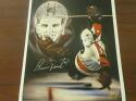 Bernie Parent Philadelphia Flyers  Signed   8x10  LITHO Photo COA