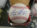 Jose Canseco Oakland A's signed MLB Baseball JSA Inscripton