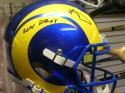 Aaron Donald Los Angeles Rams  Signed FS Replica Helmet JSA Inscription