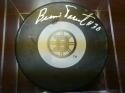 Bernie  Parent  Boston Bruins  Signed Logo  Puck COA