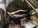 Brian Dawkins Philadelphia Eagles Signed Full Size  Eclipse STAT  Helmet JSA