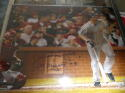 David Wright New York Mets Signed 16x20 Photo w Inscription MLB Authenticated