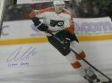 Oskar Lindblom Philadelphia Flyers Signed 16x20 Photo COA  Inscription
