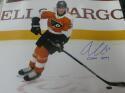 Oskar Lindblom Philadelphia Flyers Signed 16x20 Photo COA  Inscription 2